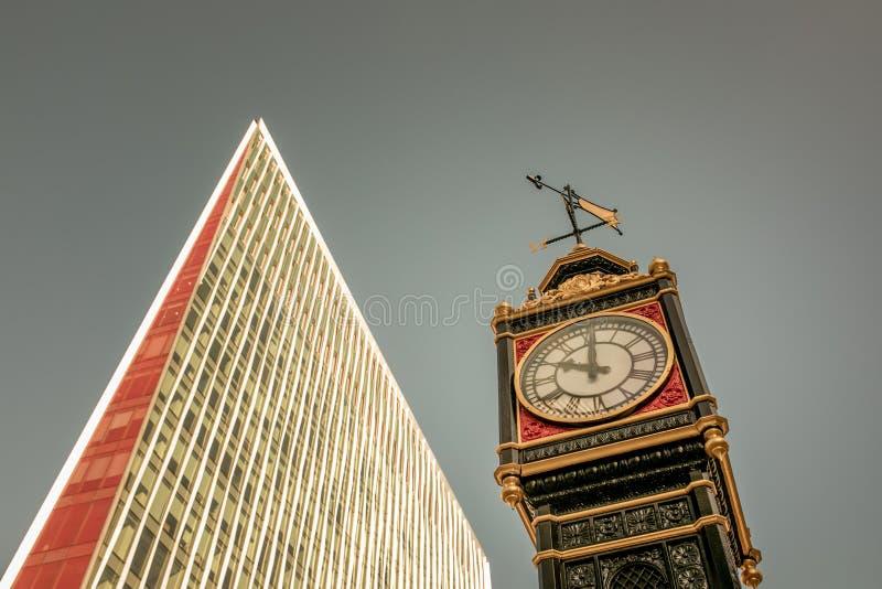 Mały Ben zegar london wielkiej brytanii zdjęcia royalty free
