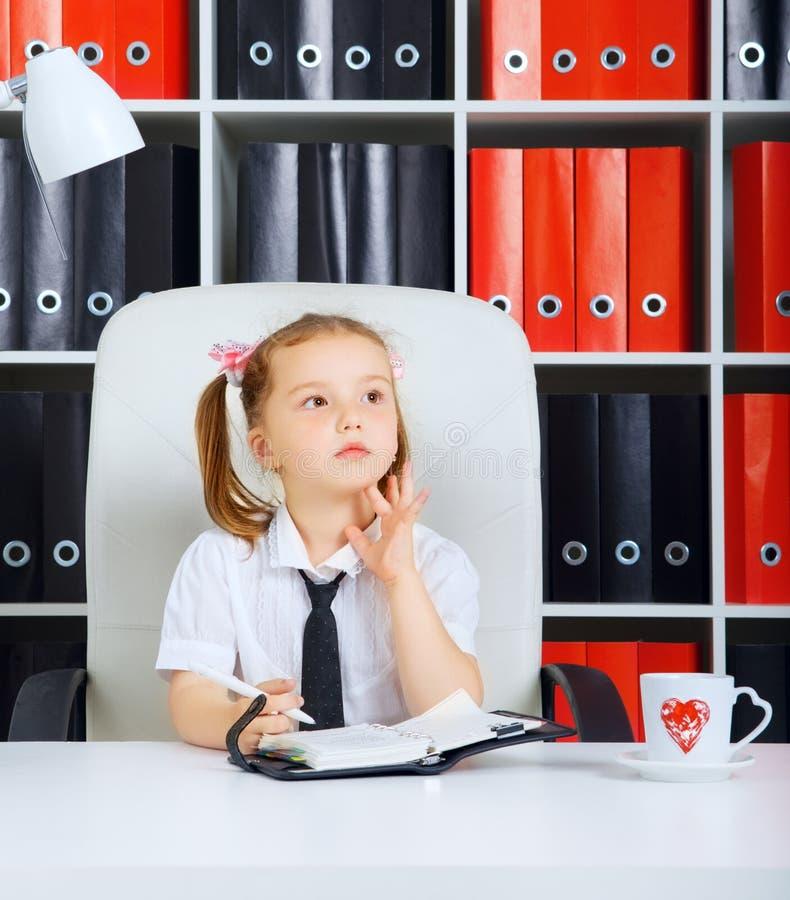 Mały bizneswoman zdjęcia stock