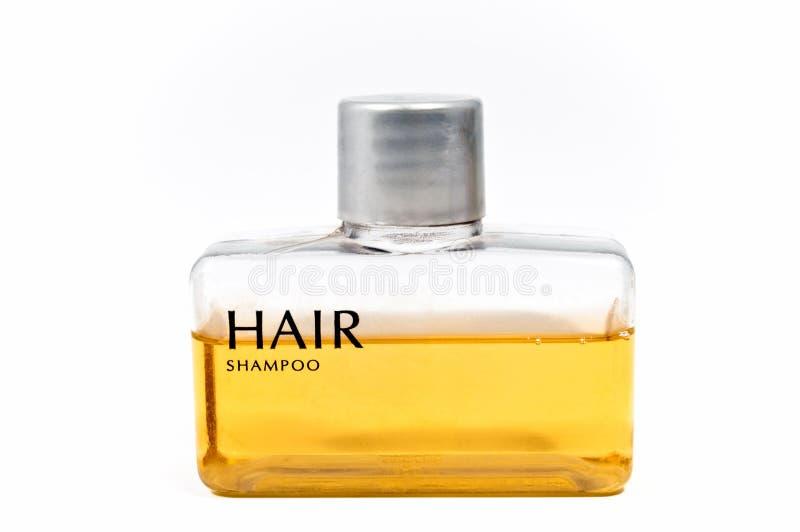 mały butelka szampon fotografia stock