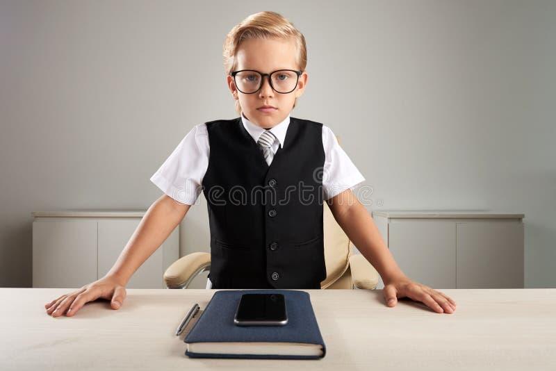 Mały CEO zdjęcia stock