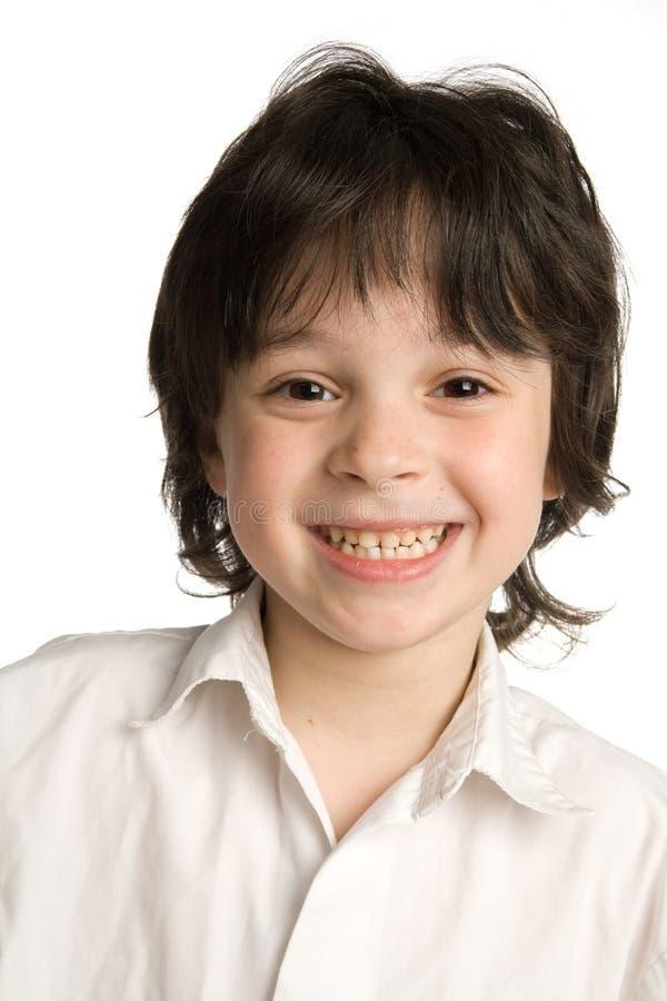 mały chłopiec portret zamknięty mały zdjęcia stock
