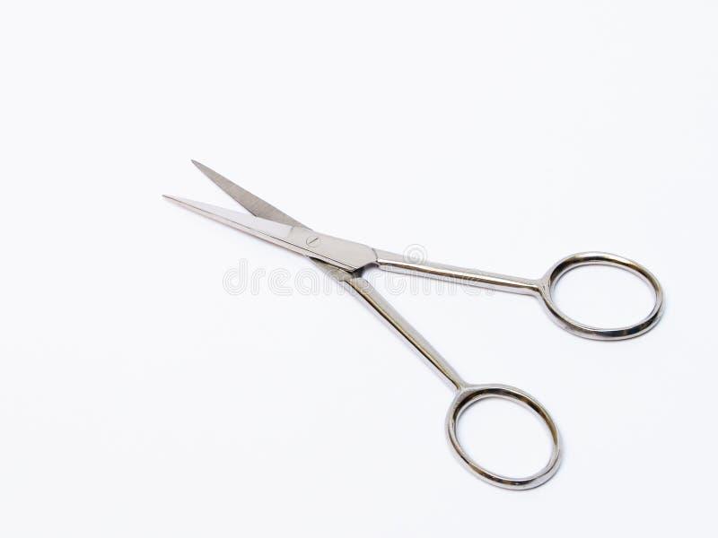 mały chirurgiczny nożyczki fotografia stock