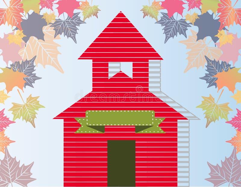 Download Mały Czerwony Budynek Szkoły Zdjęcie Stock - Obraz złożonej z plecy, edukacja: 57662332