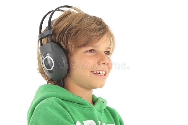 Mały DJ zdjęcia royalty free