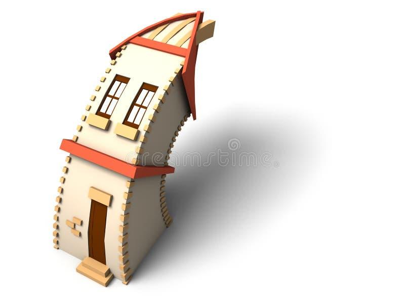 mały dom royalty ilustracja