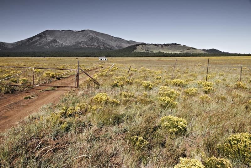Mały dom na prerii, Arizona usa zdjęcie royalty free