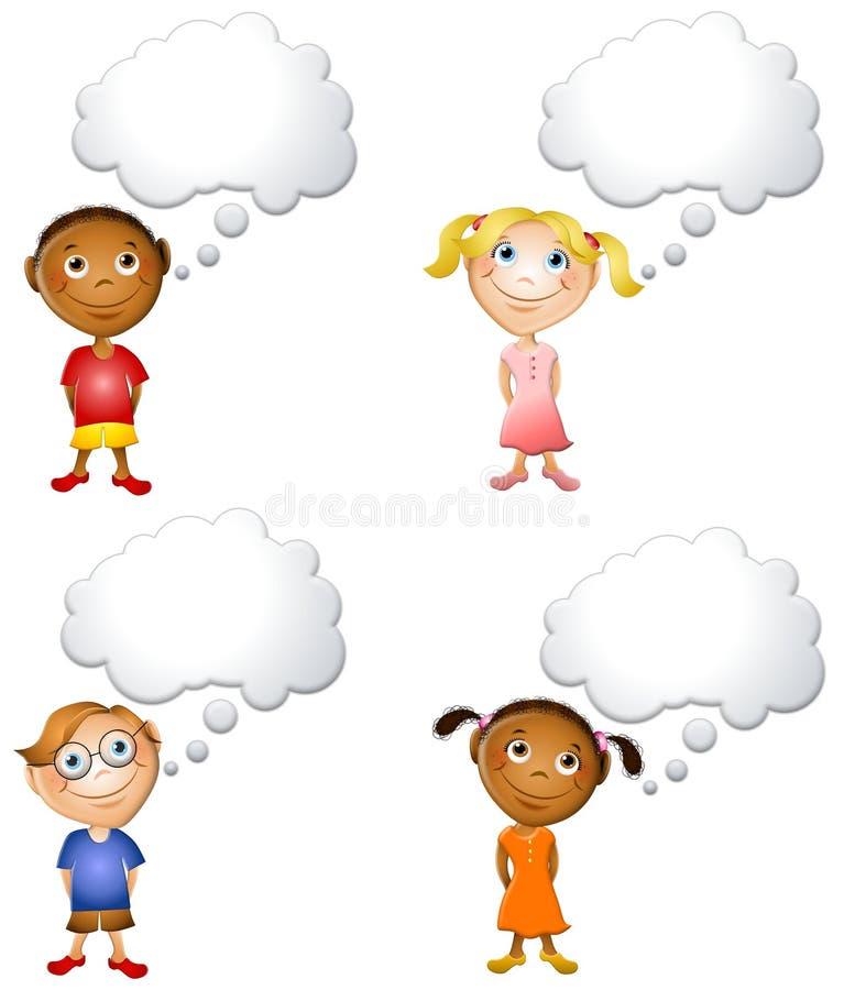 mały, dziecko ilustracja wektor