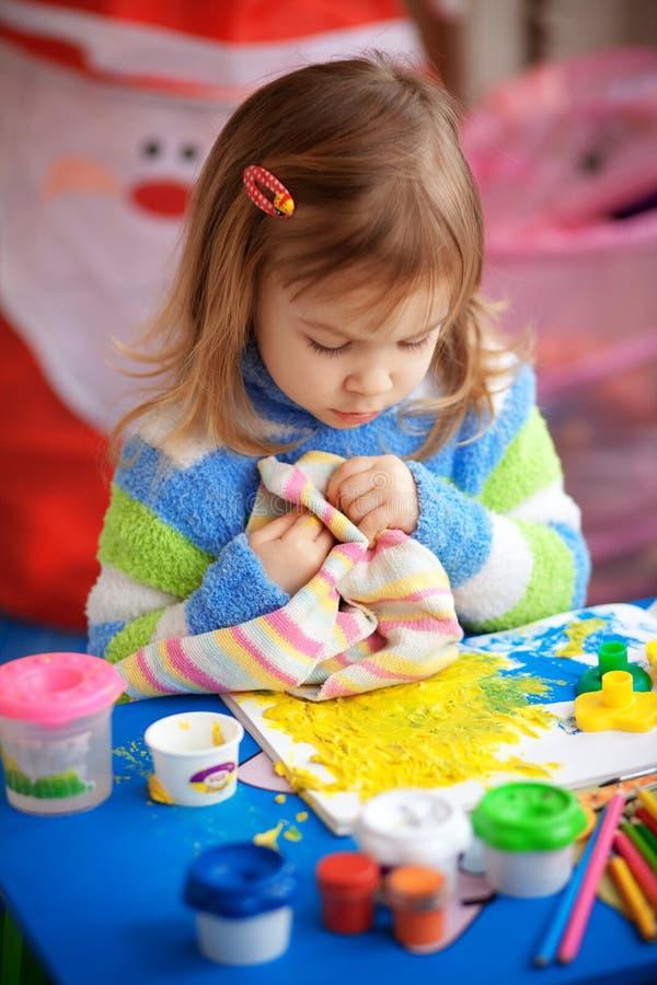 mały dziewczyna obraz fotografia stock