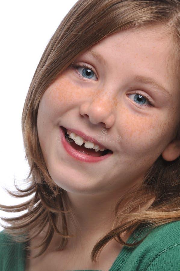 mały dziewczyna portret s obraz stock