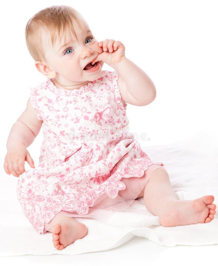 mały dziewczynka portret zdjęcia royalty free
