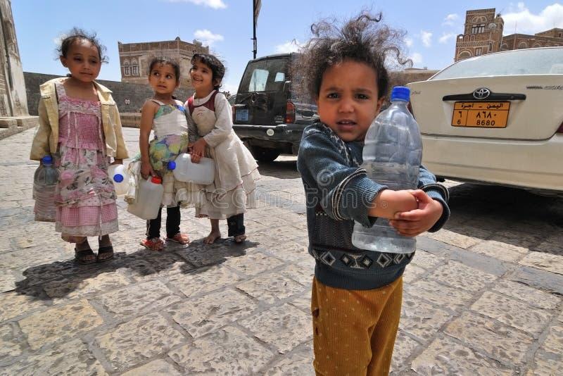 mały dziewczyny yemeni zdjęcie royalty free