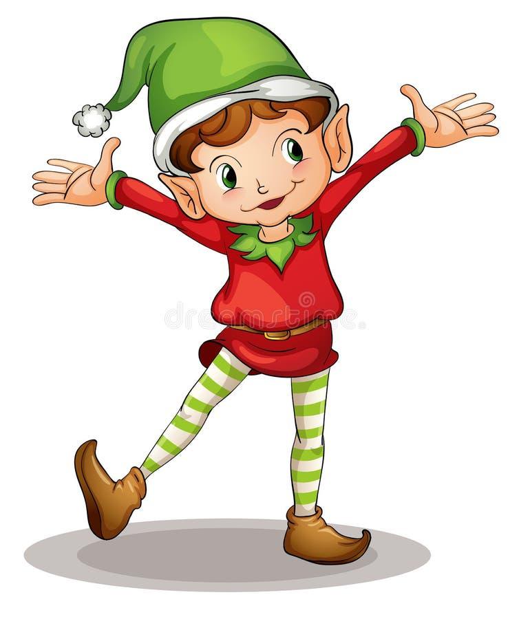 Mały elf ilustracji