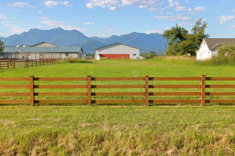 Mały Fechtujący się paśnik na hobby gospodarstwie rolnym zdjęcia royalty free