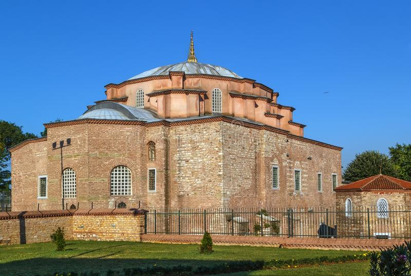 Mały Hagia Sophia, Istanbuł fotografia stock