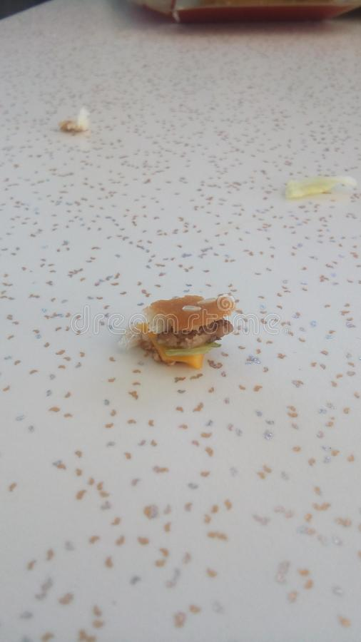 Mały hamburger zdjęcia stock