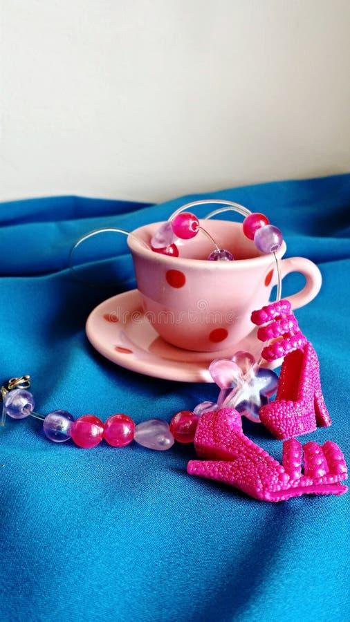 Mały herbata set zdjęcia stock