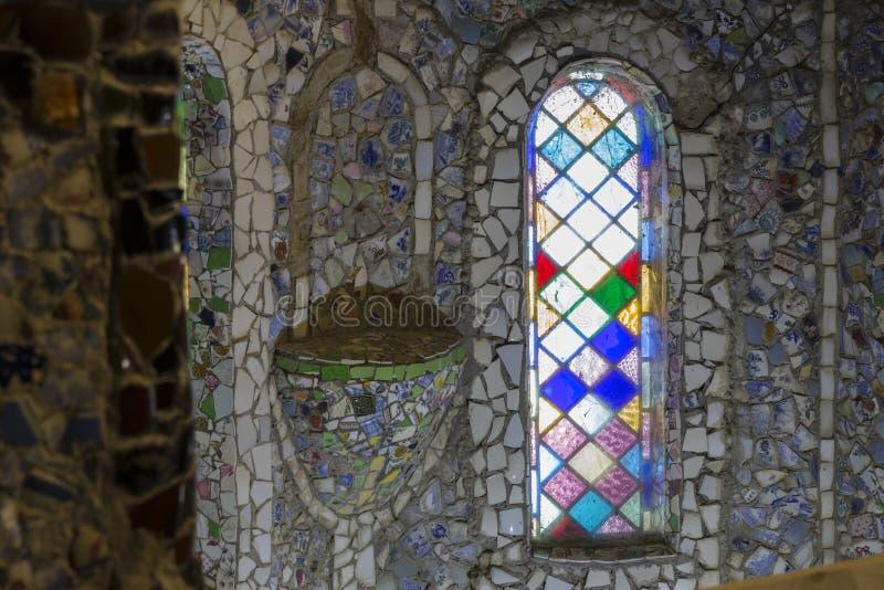 Mały kaplica kościół na Guernsey wyspie, UK zdjęcie royalty free