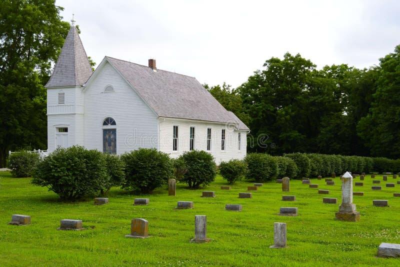 mały kraj kościoła zdjęcia royalty free