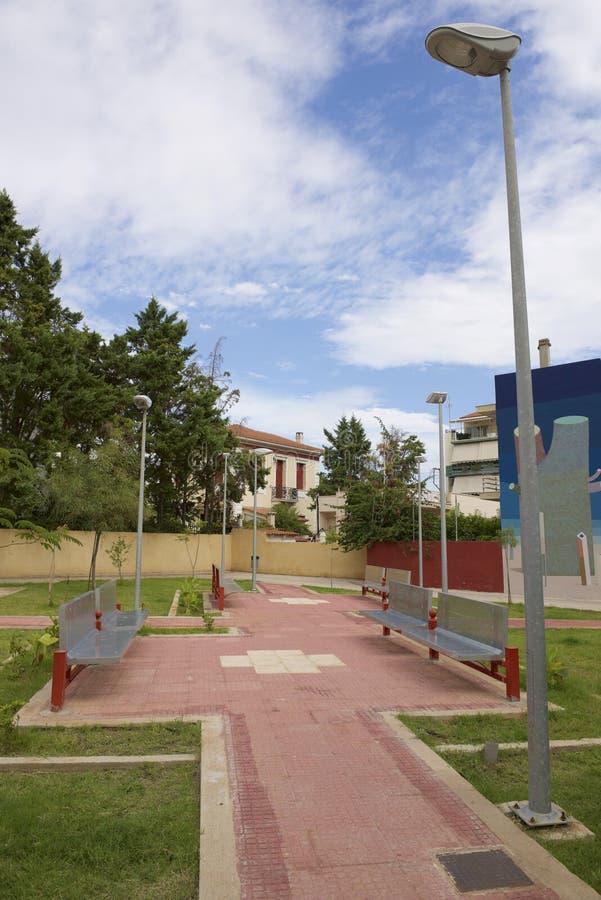 Mały kwadrat w Elefsina zdjęcie royalty free