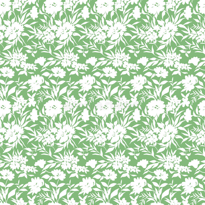 Mały kwiatu wzór 030 royalty ilustracja