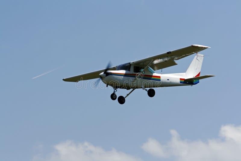 mały lotniczy samolot zdjęcie stock