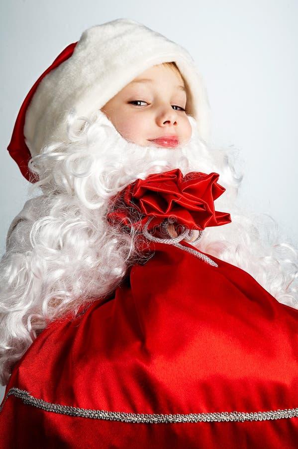 mały Mikołaj zdjęcie stock