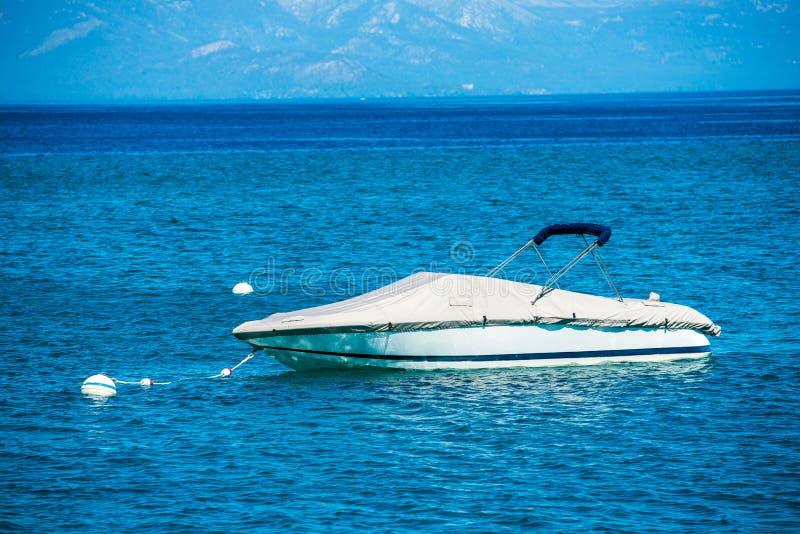 Mały motorboat zdjęcie stock