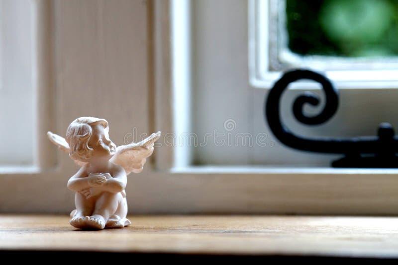 Mały opiekunu anioł fotografia stock