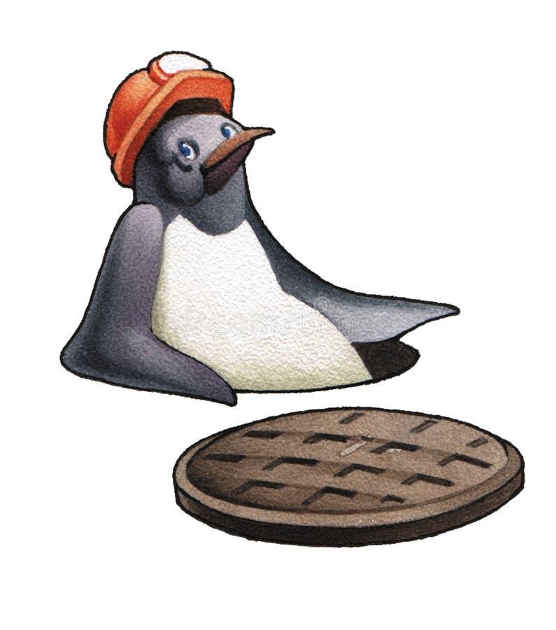 mały pingwin ilustracji