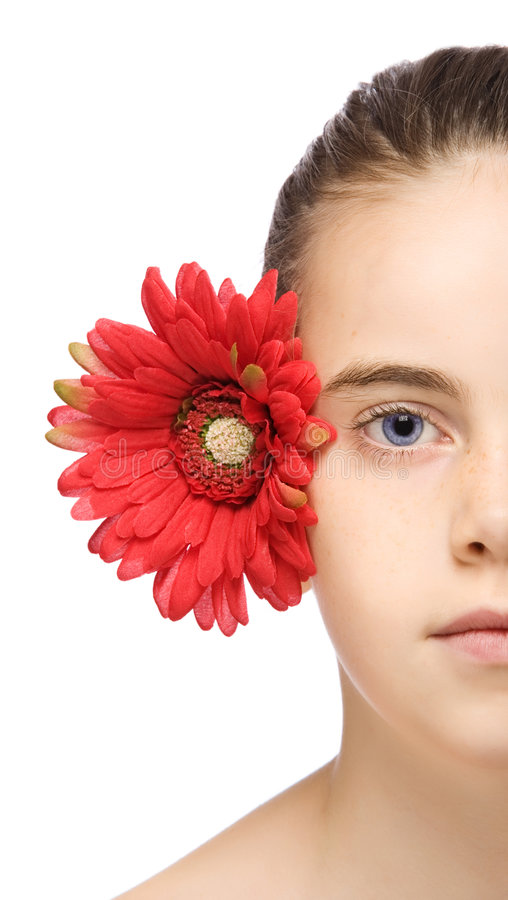 mały portret piękno fotografia stock