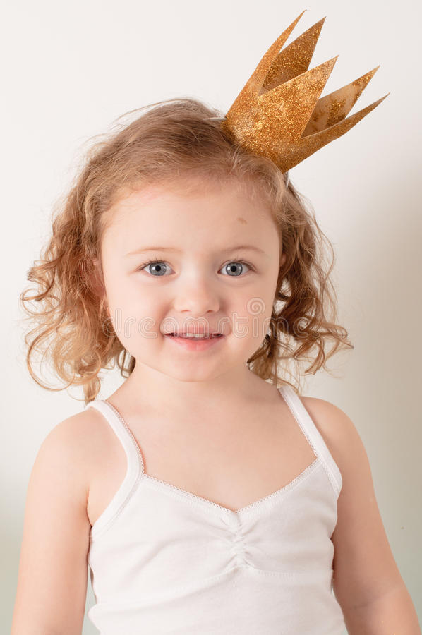 mały princess obraz stock