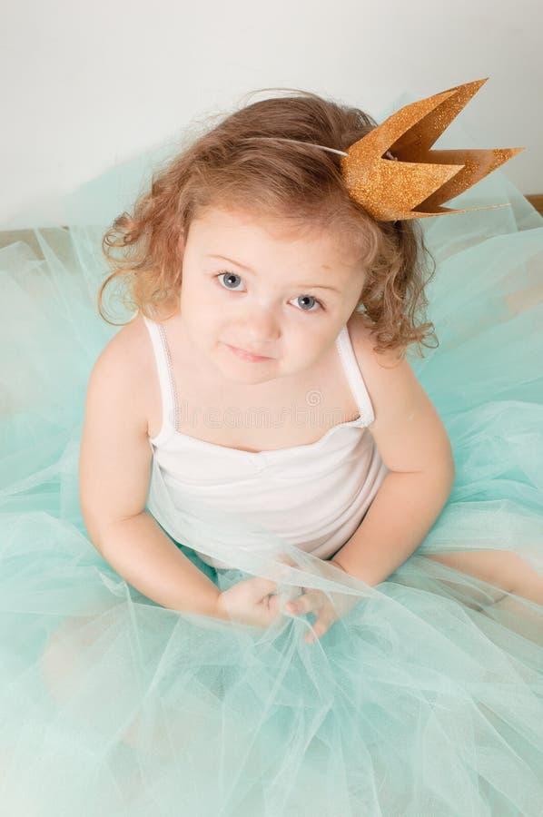 mały princess zdjęcia royalty free