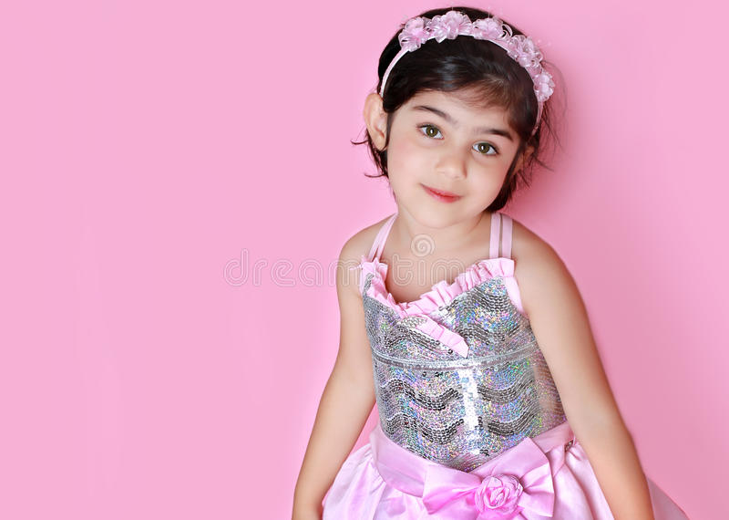 mały princess obrazy stock
