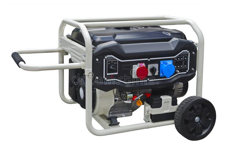 Mały przenośny benzyna generator obrazy royalty free