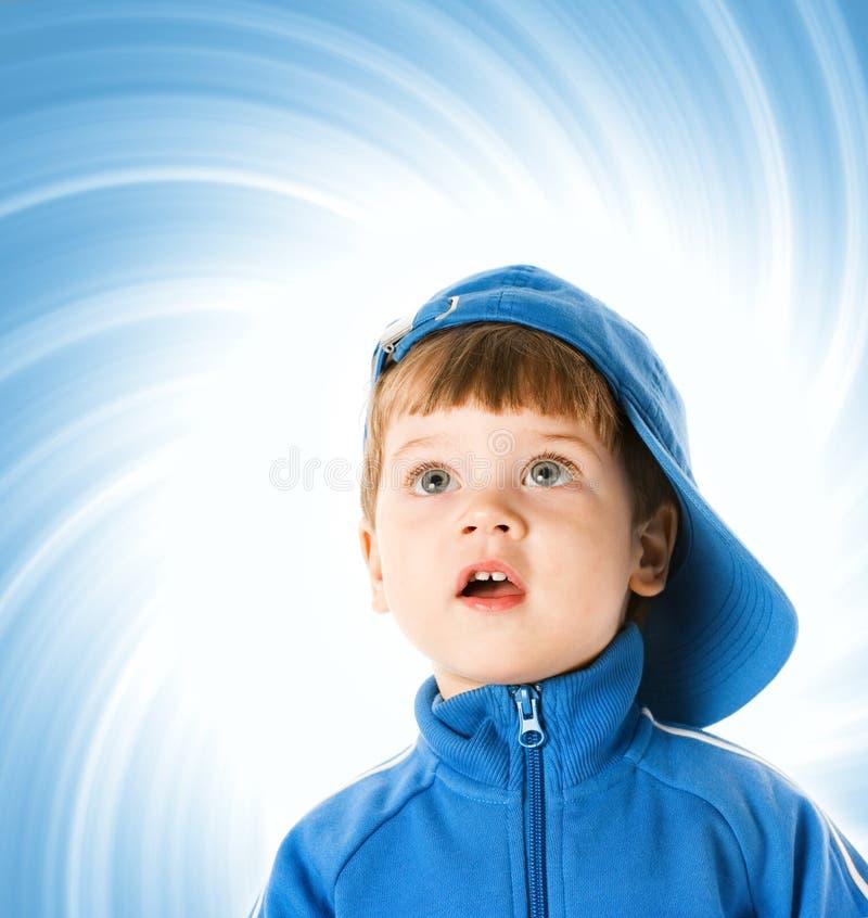 mały przystojny chłopiec fotografia stock