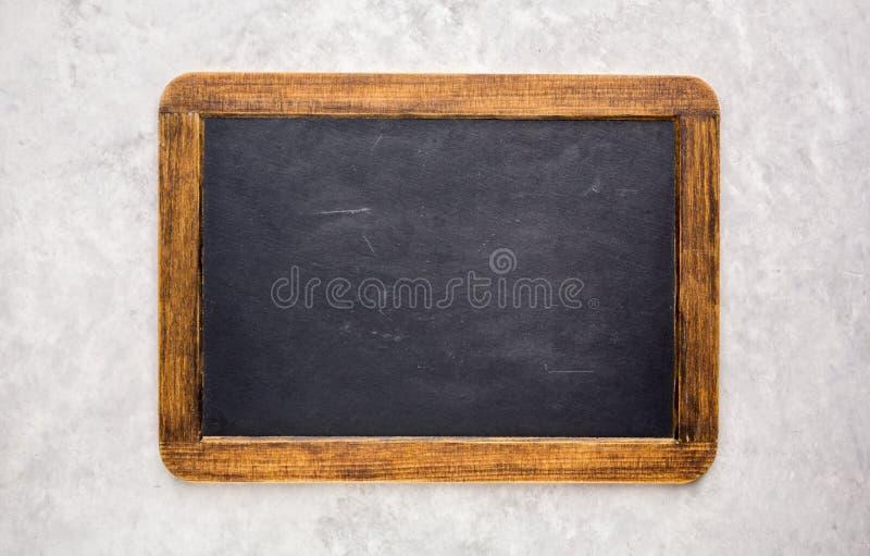 Mały pusty chalkboard obraz stock
