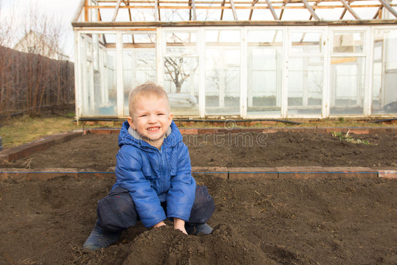 Mały rolnik obrazy royalty free