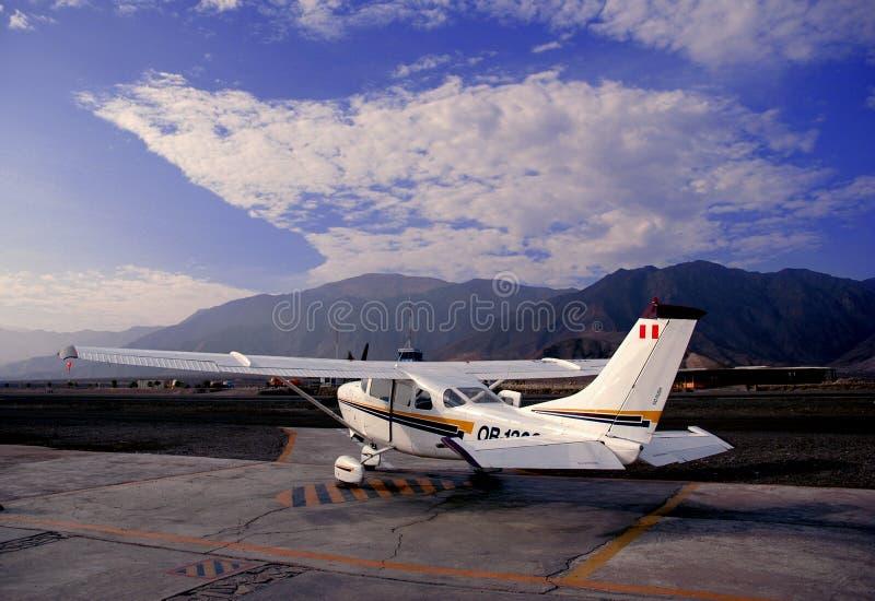 mały samolot zdjęcia stock