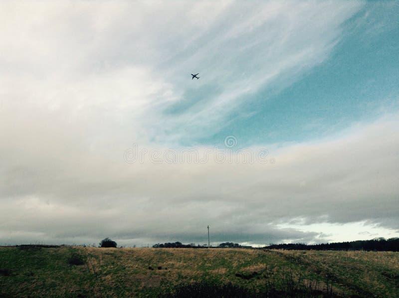 mały samolot fotografia stock