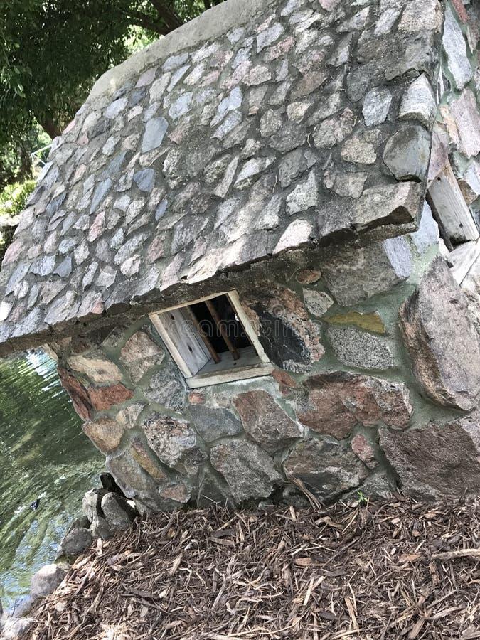 Mały skała dom zdjęcie royalty free