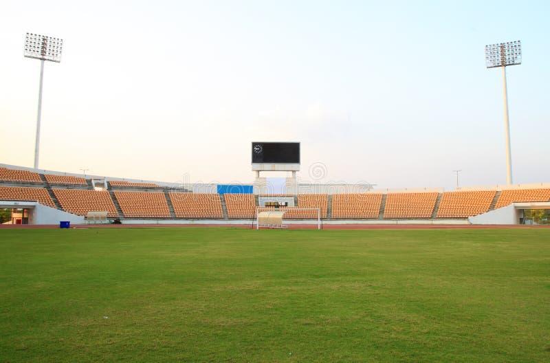 Mały stadion futbolowy zdjęcie stock
