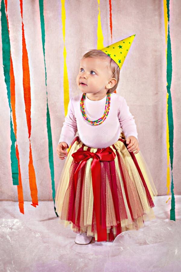 Dosyć mały princess zdjęcie stock