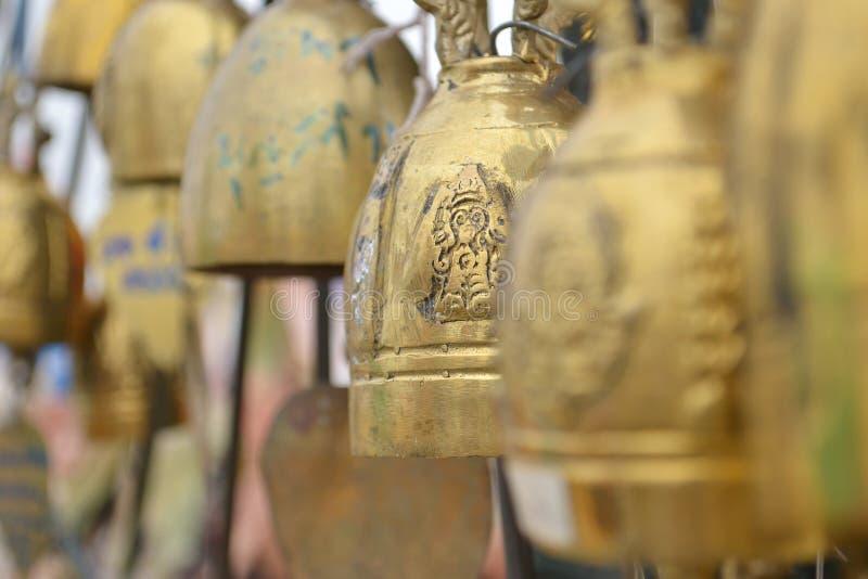 Mały Tajlandzki stylowy dzwon fotografia stock