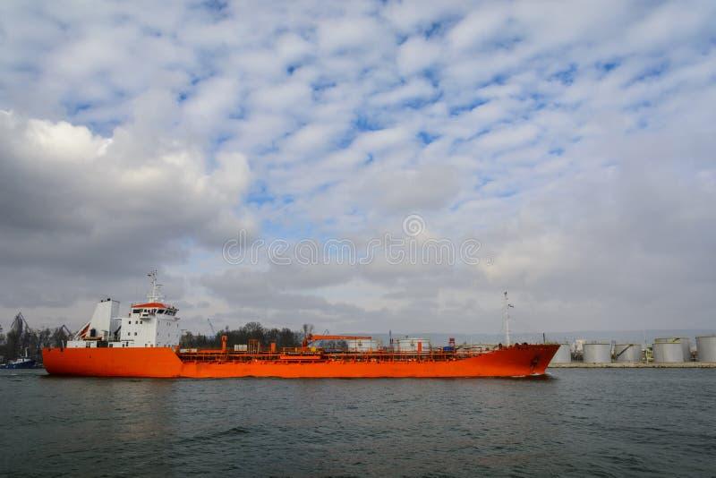Mały tankowiec fotografia royalty free