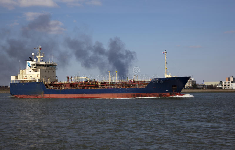 Tankowiec zdjęcie stock