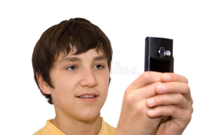 mały telefon obraz royalty free
