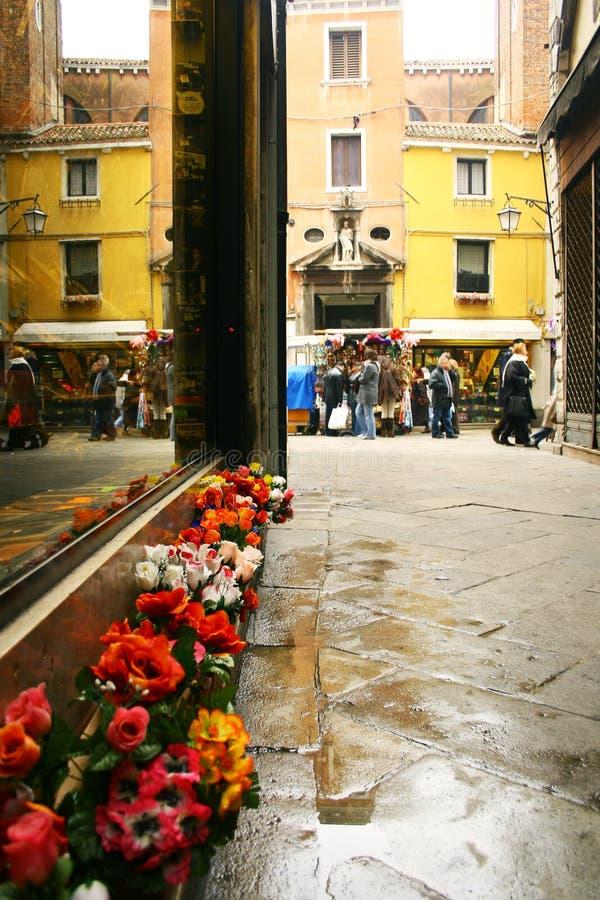 mały uliczny Wenecji fotografia royalty free