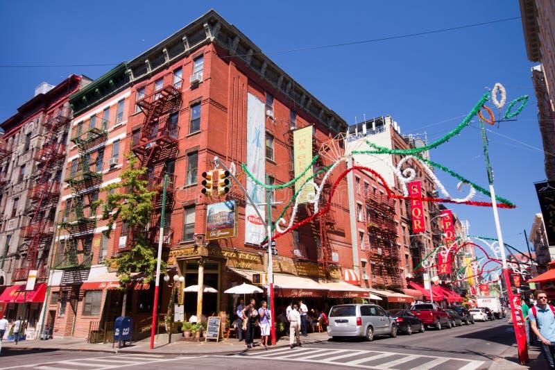 Mały Włochy NYC zdjęcie stock