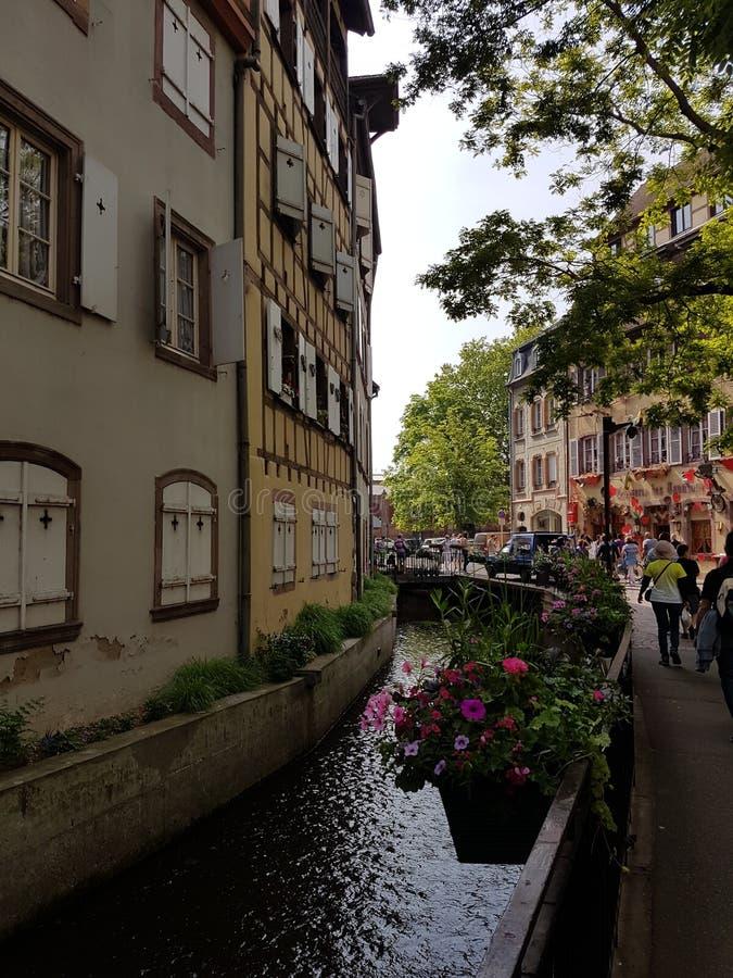 Mały Wenecja w Colmar zdjęcie royalty free