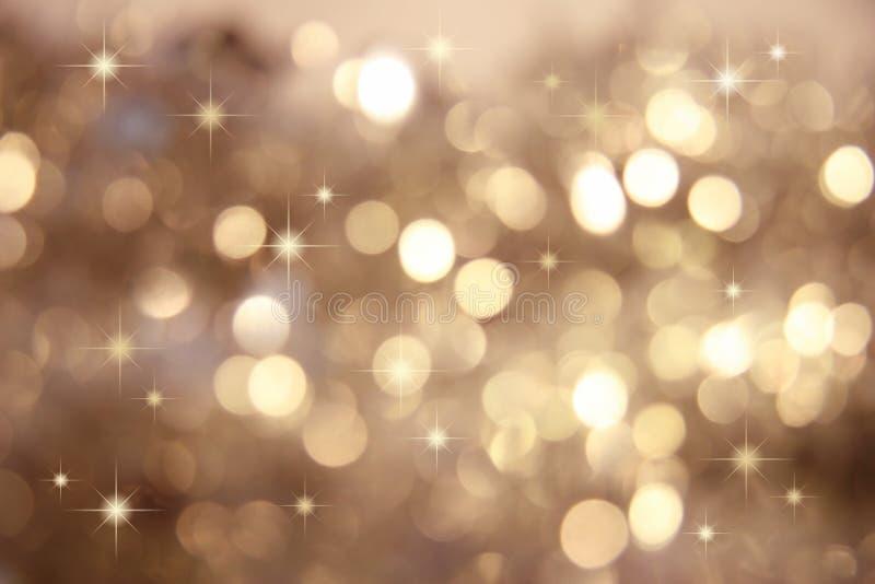 mały złoty gwiazdy. zdjęcie royalty free